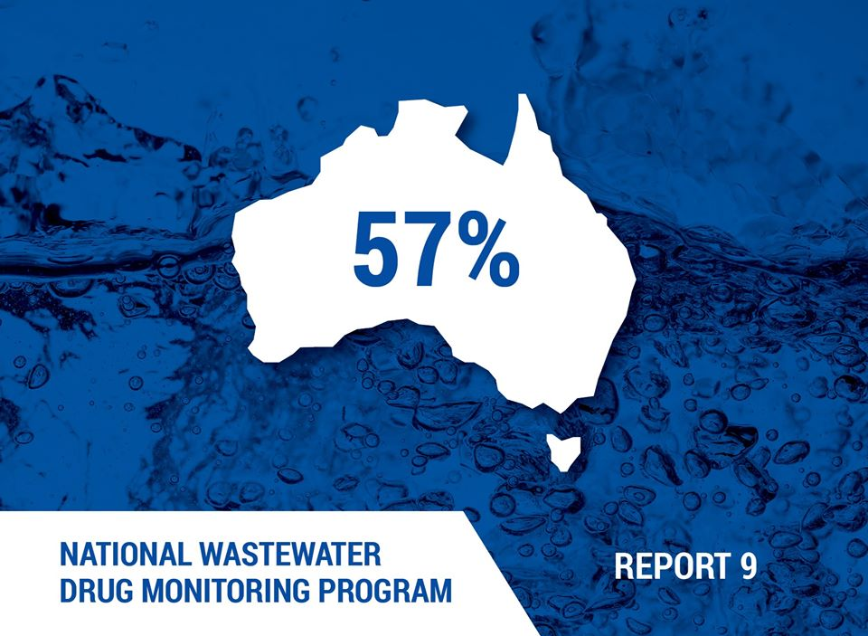 Ninth National Wastewater Drug Monitoring Program report published today