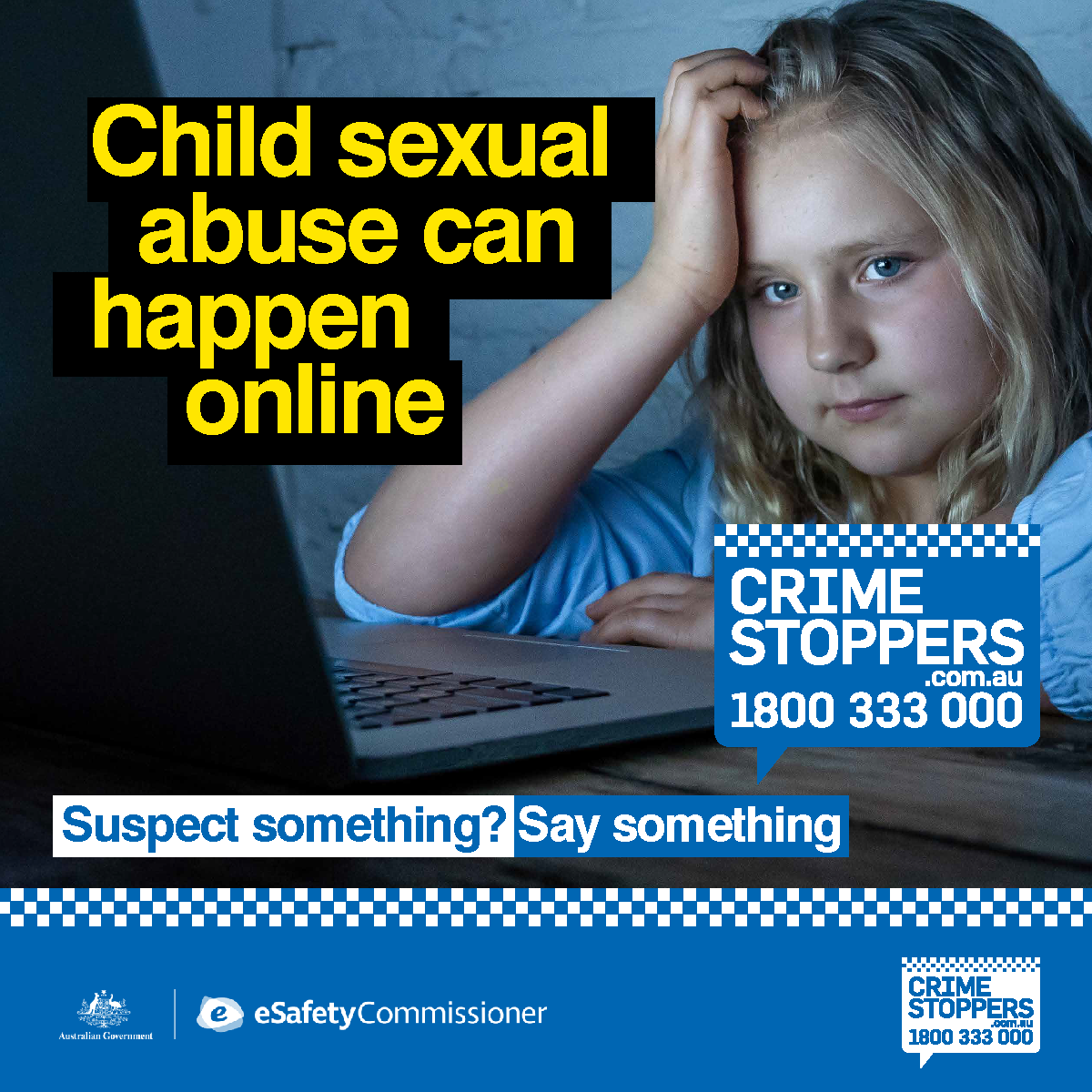 Crime Stoppers launches national partnership with eSafety Commissioner to keep children safe online