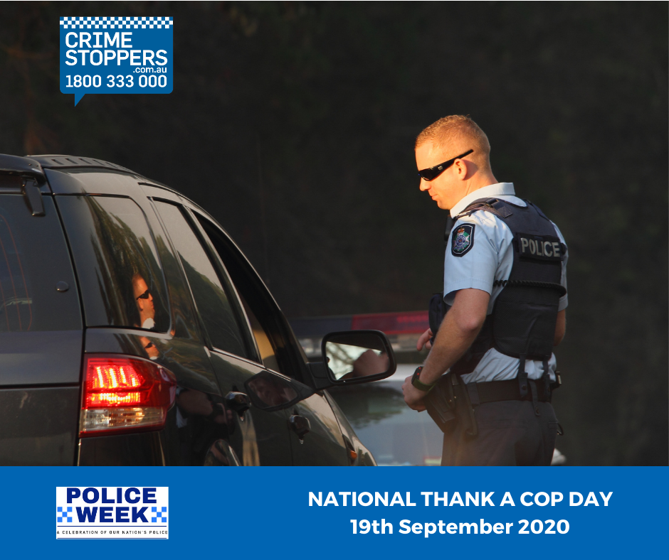 National Thank A Cop Day 2020