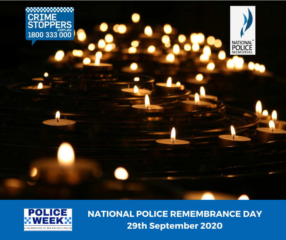 National Police Remembrance Day 2020