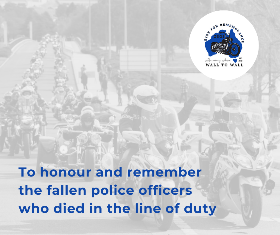 Honouring fallen police officers