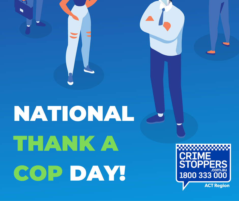 Thank a Cop Day 2021